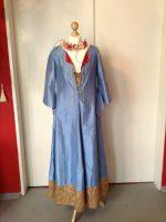 Mittelalter Seidenkleid